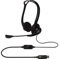 Headphones Logitech PC 960 Stereo Headset USB