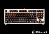 Keyboard A4 Bloody Gaming B830 Illuminated w/Infrared Mechanical LK Blue Switch