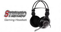 Headphones w/Mic A4 HS-100 Gaming Headset w/Vol.c