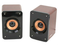 Speakers 2.0 Omega Wooden Cabinet USB