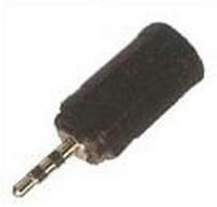 Audio adapter 2.5mm male to 3.5mm female