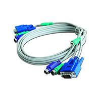 Cable KVM Set shielded 1,8m GMB w/Audio