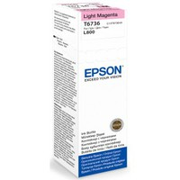 Cart.Epson T6736 Light Magenta Ink Bottle L800
