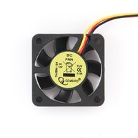 Fan DC 40x40x10mm Ball Bearing 70mm wire