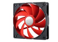 Case Fan 120x120x26 DeepCool UF 120R 1500rpm Ultra Silent De-Vibration Red