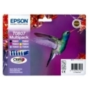 Cart.Epson Set 6 Colours R265/R285/R360/R560/P50