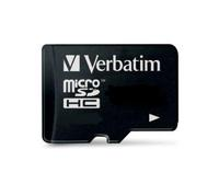 Secure Digital Micro Verbatim 8GB SDHC High Speed Class10 w/Adapter