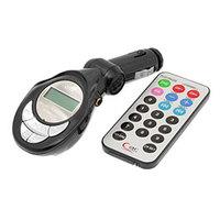 Wireless FM Transmitter 4in1 w/LCD Display & Remote FM-1002