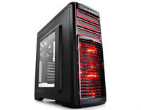 ATX Midi Tower Case Deepcool Kendomen RD w/USB 3.0, 2x USB 2.0, 5x Fans