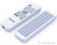 Wireless 2.4GHz Keyboard with Air Mouse / Remote Control for AndroidTV,Smart TVBox KP-810-30HS White