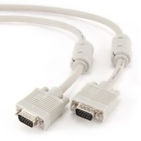 Cable VGA 3m Dual Shielded 2*Ferrite Core Cablexpert