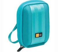 Digital Cam. Bag Case Logic Plush lining Light blue