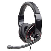 Headphones w/Mic MHS-001 Glossy Black
