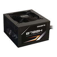 PSU 700W Gigabyte B700H Real Power, 80 Plus, Modular, Silent, 12cm Fan, Fan Speed Control, Black