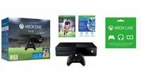 XBOX ONE 500GB + Game FIFA 16+1mEA Access + 3M Live  w/Wir. Controller
