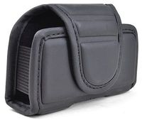 Case For Cell Phone Wireless Gear Leather Black