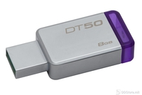 USB Drive 8GB Kingston DataTraveler 50 USB 3.1 Metal