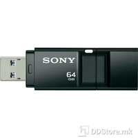 USB Drive 64GB Sony USM-64GXB 110mb/s Black USB 3.0