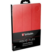 Case Verbatim Folio Flex for iPad Air Red