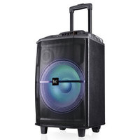 Speaker Box Mediacom MusicBox 90W Karaoke Rechargeable w/Microphone, Remote, BT, LED Lights, Battery