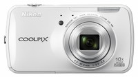Dig. Camera Nikon Coolpix S800c White SET 4GB SD/ Bag