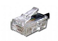 """Telephone Connectors 15u"""" 6P4C 100pcs"""