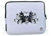 "Netbook & Tablet Sleeve Isis Rocker - Fits 10-12"" Black/Gray with ""Skull"" Logo"