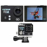 "Action Camera GOCLEVER EXTREME PRO 4K FullHD/2.7K/4K 2.0"" IPS LCD w/Waterproof case and Selfie Stick"