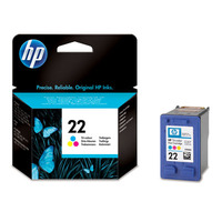 Cart. HP 22 Colour 3920/3940/PSC1410