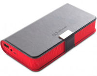 Speakers 2.0 GOCLEVER Sound Book Bluetooth w/Power Bank 5200 mAh Black/Red
