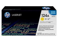 Toner HP 124A 2600 YELLOW Q6002A
