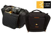 Digital Cam. Bag Case Logic Large/ SLR SLRC-203 Black/Orange