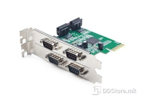 Serial Ports PCI Express Add on card SPC-2 4xSer. Ports