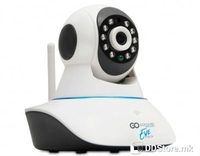 GOCLEVER DELTA EYE IP Network WiFi, LAN HD Camera Day/Night w/Motion Sensor 2-Way Audio App Support