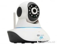 GOCLEVER DELTA EYE IP Network WiFi, LAN HD Camera Day/Night w/Motion Sensor 2-Way Audio App Support