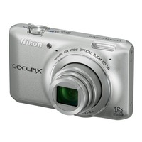 Dig. Camera Nikon Coolpix S6400 Silver SET 4GB SD/ Bag