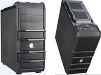 ATX Midi Tower Case SAMA i03 Gaming Black w/o PSU
