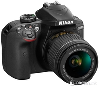 Dig. Camera Nikon D3400 + 18-55VR AF-P Kit