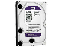 "HDD 3.5"" 6TB Western Digital SATA3 64MB WD60PURX Purple Surveillance"