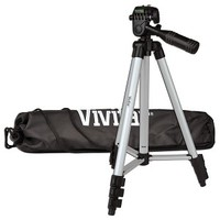 Dig. Camera Tripod 50inch w/Bubble Level , aluminium, w/bag