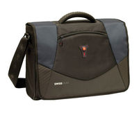 "Notebook Bag Wenger Swissgear Mythos Messenger 17"" Black/Grey"