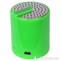 Speaker 1.0 Tech&Go Rechargable Portable Green