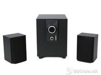 Speakers 2.1 Omega OG24-W Wood Black 25W RMS