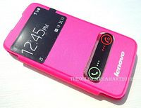 Flip Case w/Window for Lenovo A516 Pink