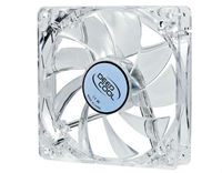 Case Fan 120x120x25 DeepCool XFAN 120L/W 1300rpm Silent Transparent w/White LED