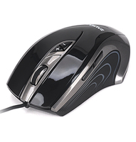 Mouse Zalman ZM-GM1 Gaming Laser USB Black/Silver