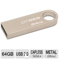 USB Drive 64GB Kingston DataTraveler SE9 Metal