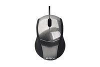 Mouse A4 N-100-1 V-Track USB Carbon