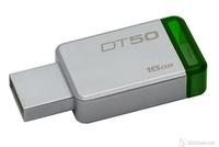 USB Drive 16GB Kingston DataTraveler 50 USB 3.1 Metal