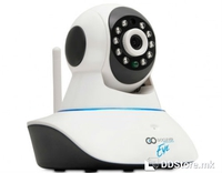 GOCLEVER EYE v.2 IP Network WiFi, LAN HD Camera Day/Night w/Motion Sensor 2-Way Audio App Support